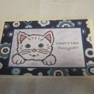"""What's New Pussycat a - 5x7"""" Greeting Card with envelope"""