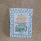 "Baby Boy Boy - 5x7"" Greeting Card with envelope"