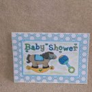 """Baby Shower Boy Horse - 5x7"""" Greeting Card with envelope"""