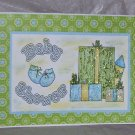 """Baby Shower Boy - 5x7"""" Greeting Card with envelope"""
