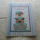 "But I Took A Bath Yesterday Boy - 5x7"" Greeting Card with envelope"