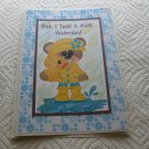 """But I Took A Bath Yesterday Girl - 5x7"""" Greeting Card with envelope"""