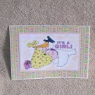 "It's A Girl a - 5x7"" Greeting Card with envelope"