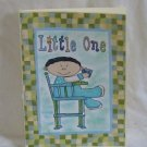 """Little One Boy - 5x7"""" Greeting Card with envelope"""