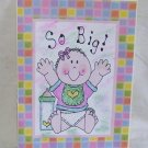 """So Big Girl - 5x7"""" Greeting Card with envelope"""