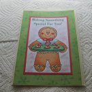 "Baking Something Special Gingerbread - 5x7"" Greeting Card with envelope"