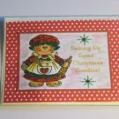 """Baking Up Some Christmas Goodies a - 5x7"""" Greeting Card with envelope"""