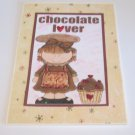 "Chocolate Lover - 5x7"" Greeting Card with envelope"