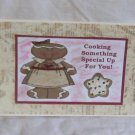 "Cooking Something Special Up For You - 5x7"" Greeting Card with envelope"