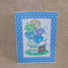 "Birthday Cake and Balloons - 5x7"" Greeting Card with envelope"