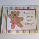 """Dance It Up On Your Birthday - 5x7"""" Greeting Card with envelope"""