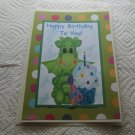 "Happy Birthday To You Dragon - 5x7"" Greeting Card with envelope"