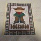 "Buckaroo - 5x7"" Greeting Card with envelope"