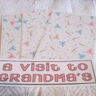 A Visit To Grandma's a - 4pc Mat Set