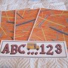 ABC 123 Bus b - 4pc Mat Set