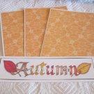 Beauty of Autumn a - 4pc Mat Set