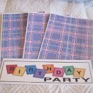 Birthday Party 1a - 4pc Mat Set