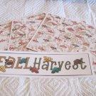 Fall Harvest a - 4pc Mat Set