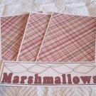 Marshmallows a - 4pc Mat Set