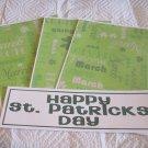 Happy St Patrick's Day a - 4pc Mat Set