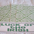 Luck Of The Irish a - 4pc Mat Set