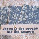 Jesus Is The Reason a - 4pc Mat Set