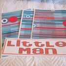 Little Man b - 4pc Mat Set