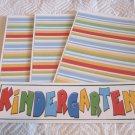 Kindergarten 2b - 4pc Mat Set