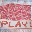 Play a - 4pc Mat Set
