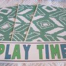 Play Time b - 4pc Mat Set