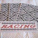Racing - 4pc Mat Set