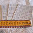 Ruler - 4pc Mat Set