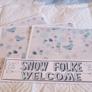 Snow Folke Welcome - 4pc Mat Set