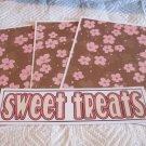 Sweet Treats b - 4pc Mat Set