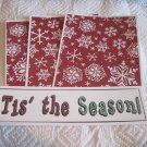 Tis The Season d - 4pc Mat Set