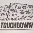 Touchdown - 4pc Mat Set