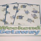 Weekend Getaway - 4pc Mat Set