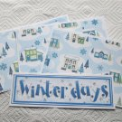 Winter Days - 4pc Mat Set