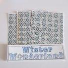 Winter Wonderland a - 4pc Mat Set