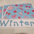 Winter - 4pc Mat Set