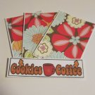 Cookies and Coffee - 4pc Mat Set