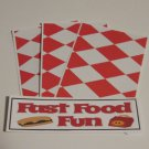 Fast Food Fun - 4pc Mat Set