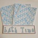 Bath Time 1 - 4pc Mat Set