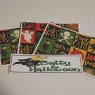 Batty For Halloween - 4pc Mat Set