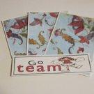Go Team - 4pc Mat Set