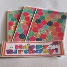 Happy Birthday a - 4pc Mat Set