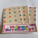 Happy Birthday  - 4pc Mat Set