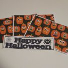 Happy Halloween Spider Web - 4pc Mat Set