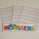 Monsters - 4pc Mat Set