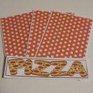 Pizza - 4pc Mat Set